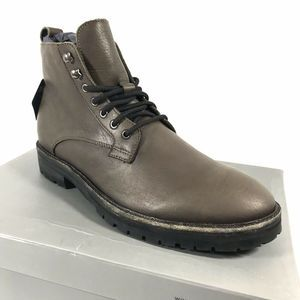 Frank Wright FRANKEL Grey Washed Leather Boot 10 M